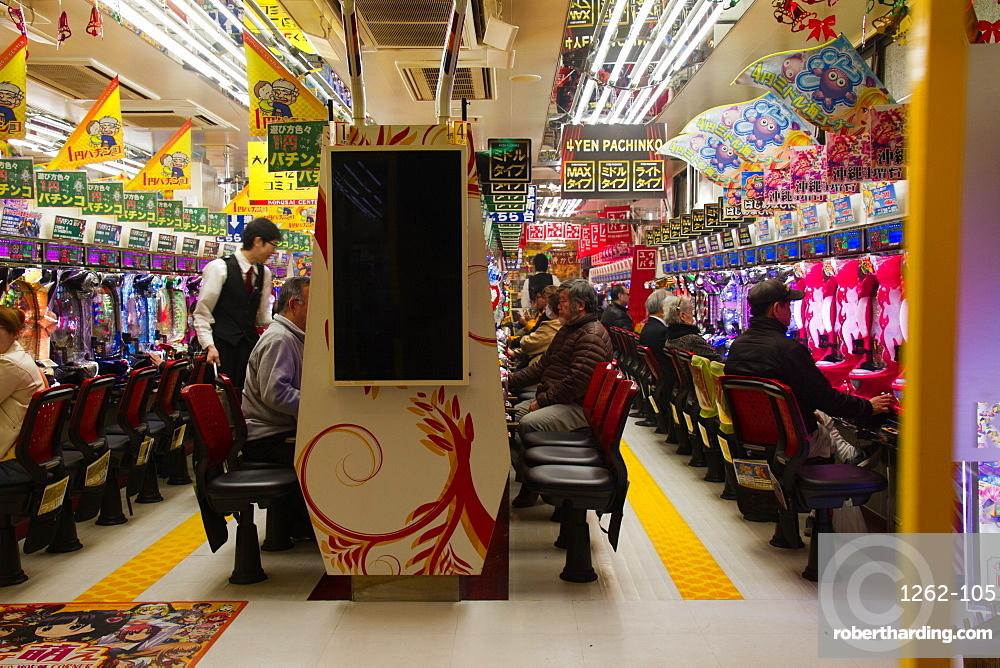 Pachinko gambling, Tokyo, Japan, Asia