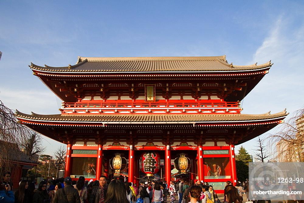 Asakura Temple, Tokyo, Japan, Asia