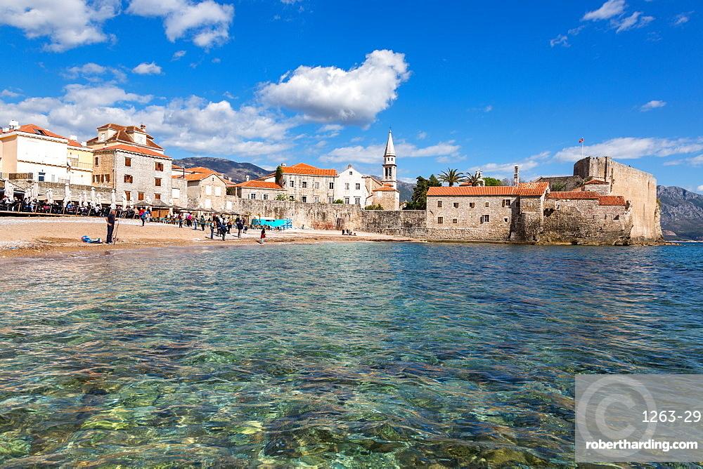 The Stari Grad (old town) of Budva, Montenegro, Europe