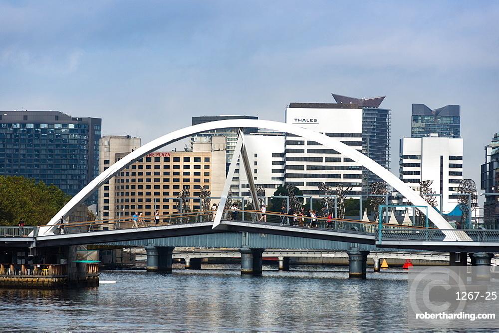 Southgate Bridge, Melbourne, Victoria, Australia, Pacific