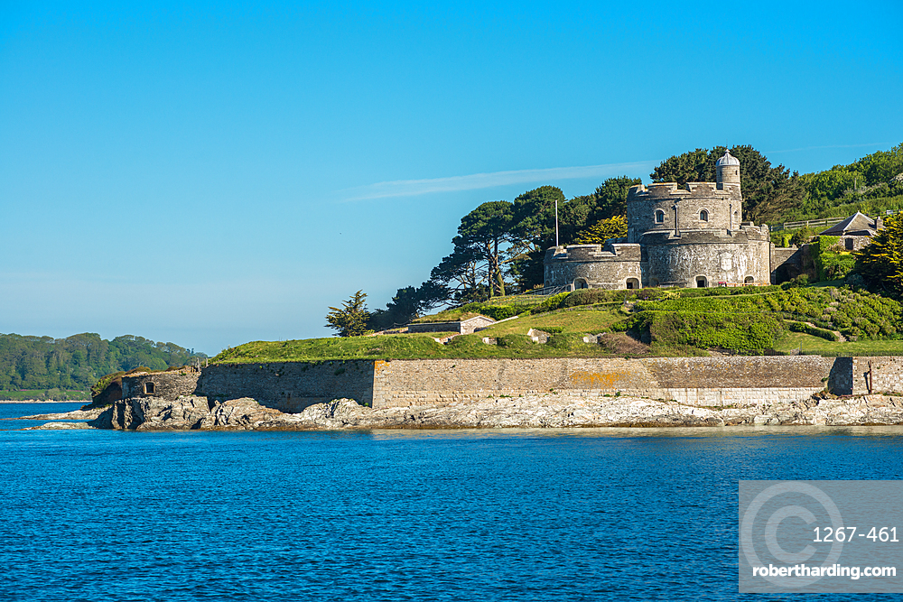 St Mawes Castle is an artillery fort constructed by Henry VIII near Falmouth, Cornwall, UK