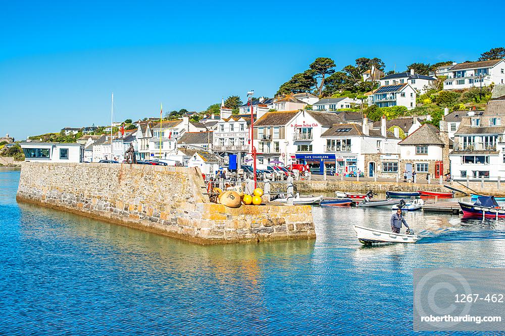 St Mawes harbour, Cornwall, England, United Kingdom, Europe.