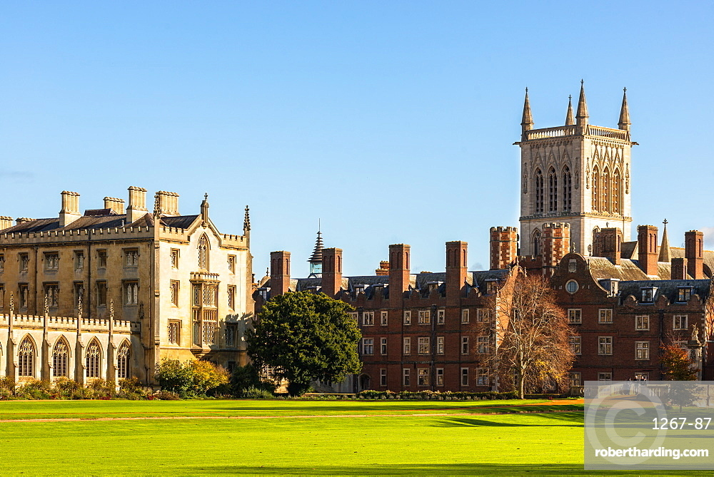 St. Johns College, Cambridge University, Cambridge, Cambridgeshire, England, United Kingdom, Europe