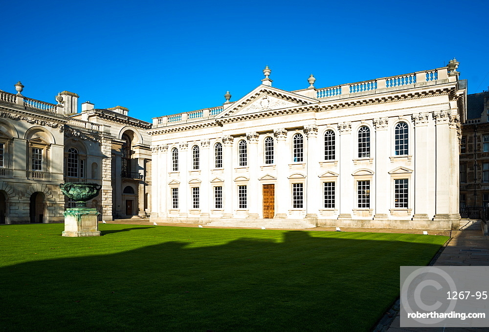 The Senate House of the University of Cambridge, used mainly for degree ceremonies, Cambridge, Cambridgeshire, England, United Kingdom, Europe