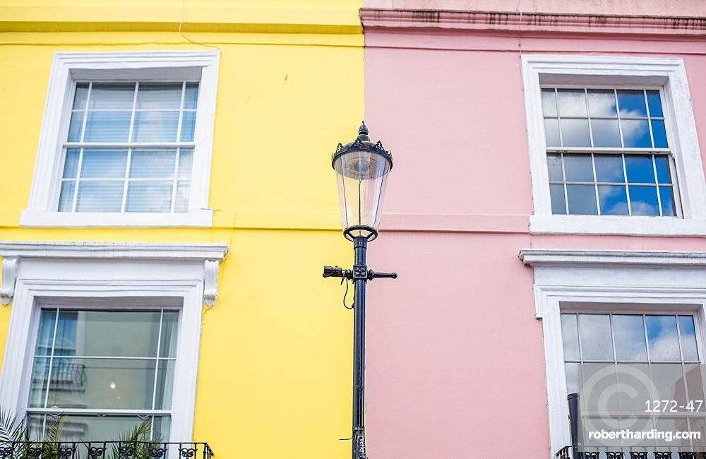 Street scene on Portobello Road, London, England, United Kingdom, Europe