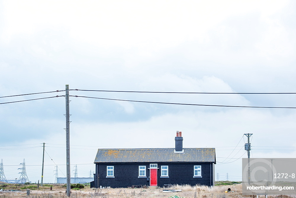 House in Dungeness, Kent, England, United Kingdom, Europe