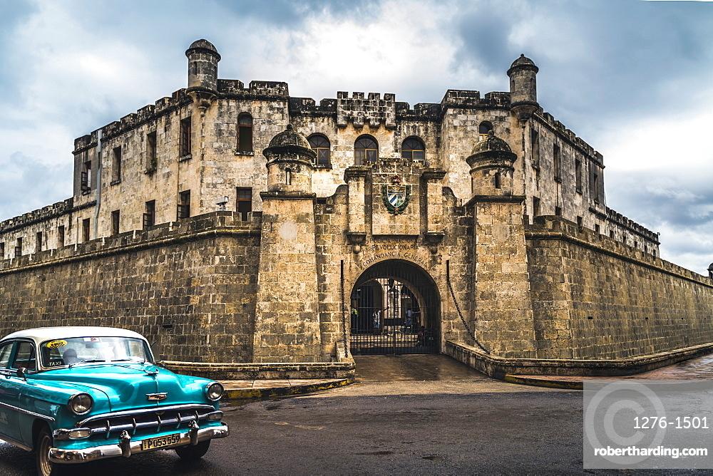 Castillo de la Real Fuerza in La Habana Vieja, UNESCO, Old Havana, La Habana, Cuba, West Indies, Caribbean, Central America