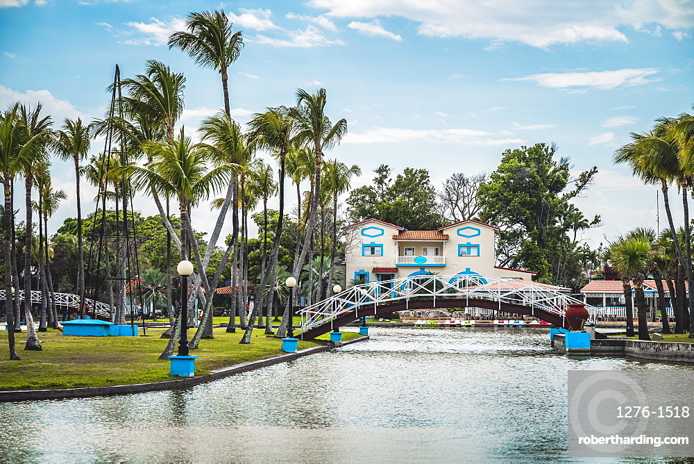 Parque Josone park in Varadero, Hicacos Peninsula, Matanzas Province, Cuba, Central America