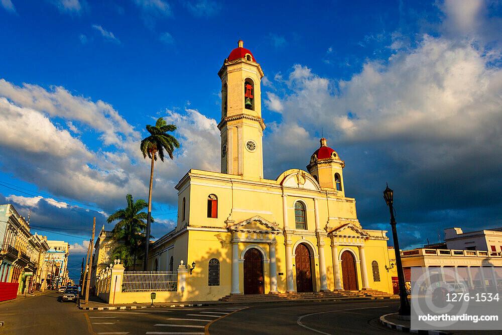 Catedral de la Purisima Concepcion (Cienfuegos Cathedral), Cienfuegos, UNESCO World Heritage Site, Cuba, West Indies, Caribbean