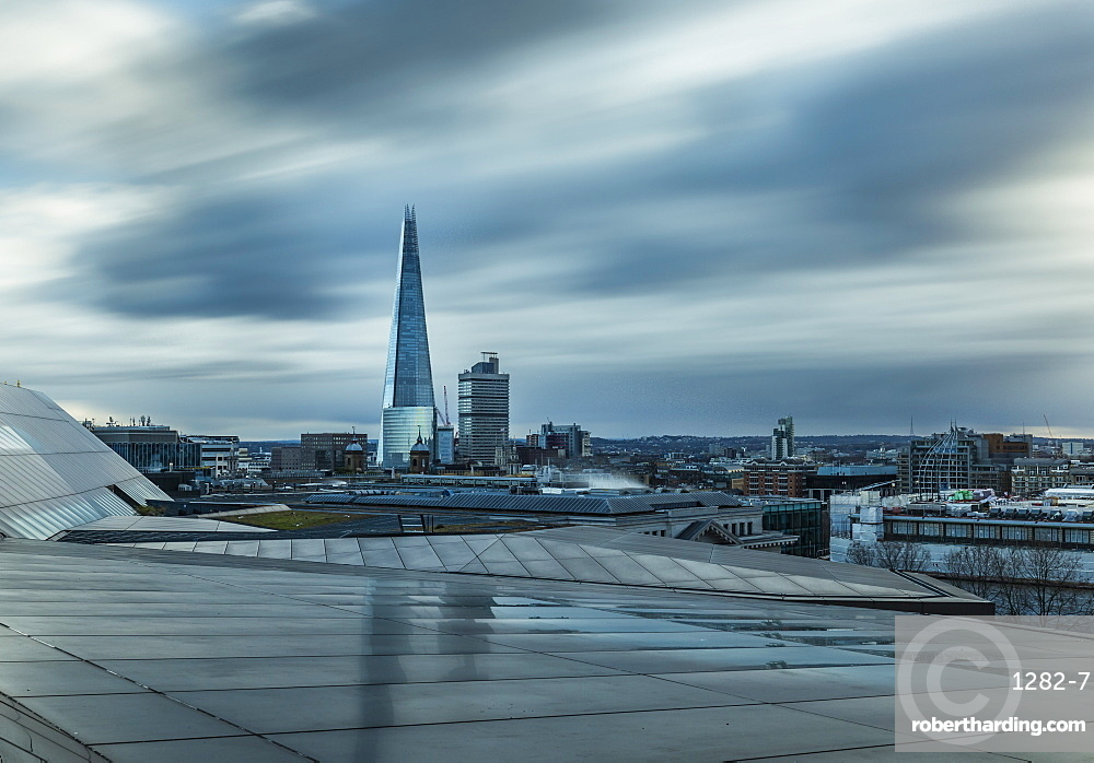 The Shard, cityscape from One New Change, Southwark, London, England, United Kingdom, Europe