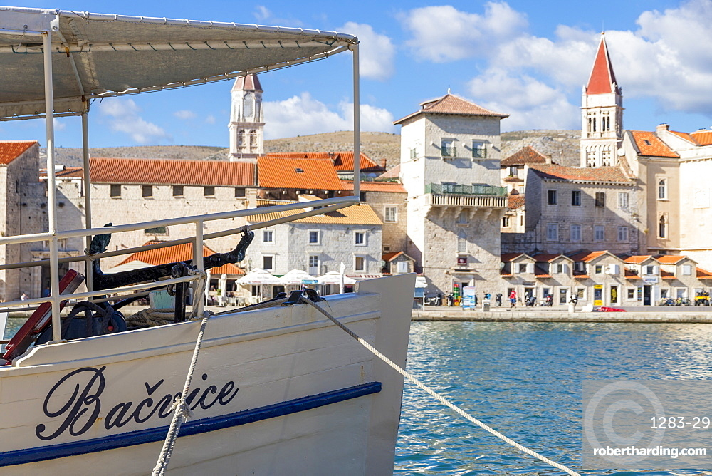 The old town of Trogir, UNESCO World Heritage Site, Croatia, Europe