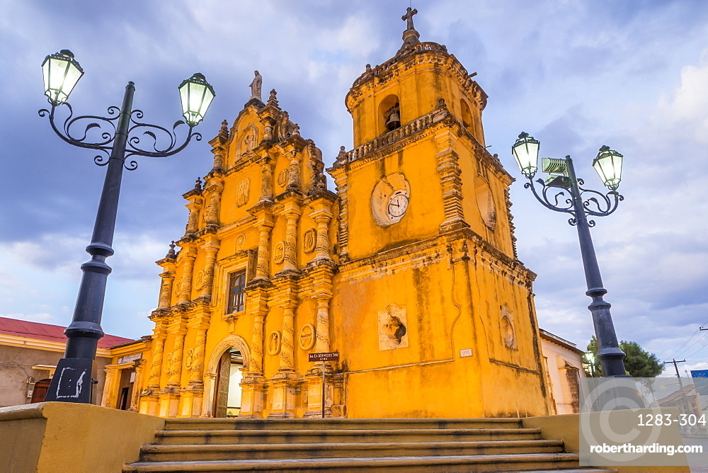 The Recollection Church in Leon, Nicaragua, Central America