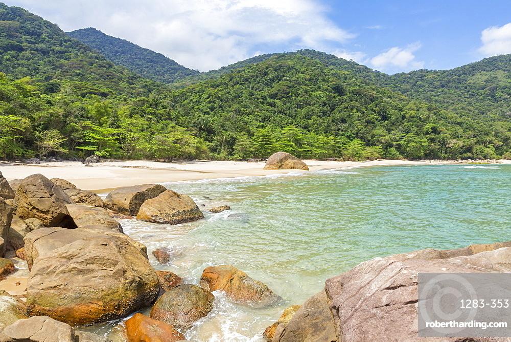 Antigo Beach near Paraty, Rio de Janeiro, Brazil, South America