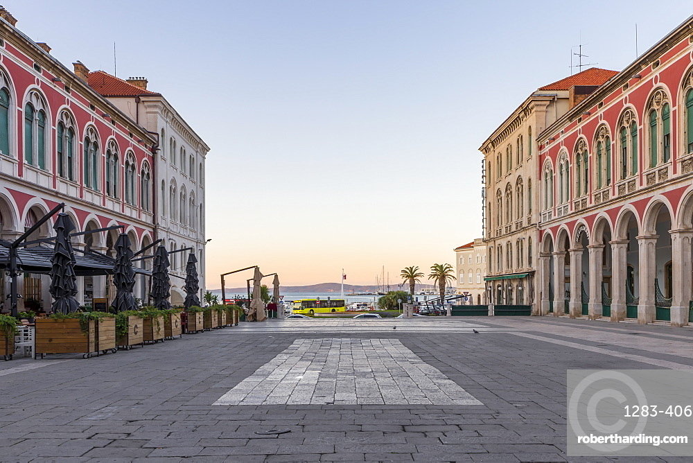 Republic Square (Trg Republike), Split, Croatia