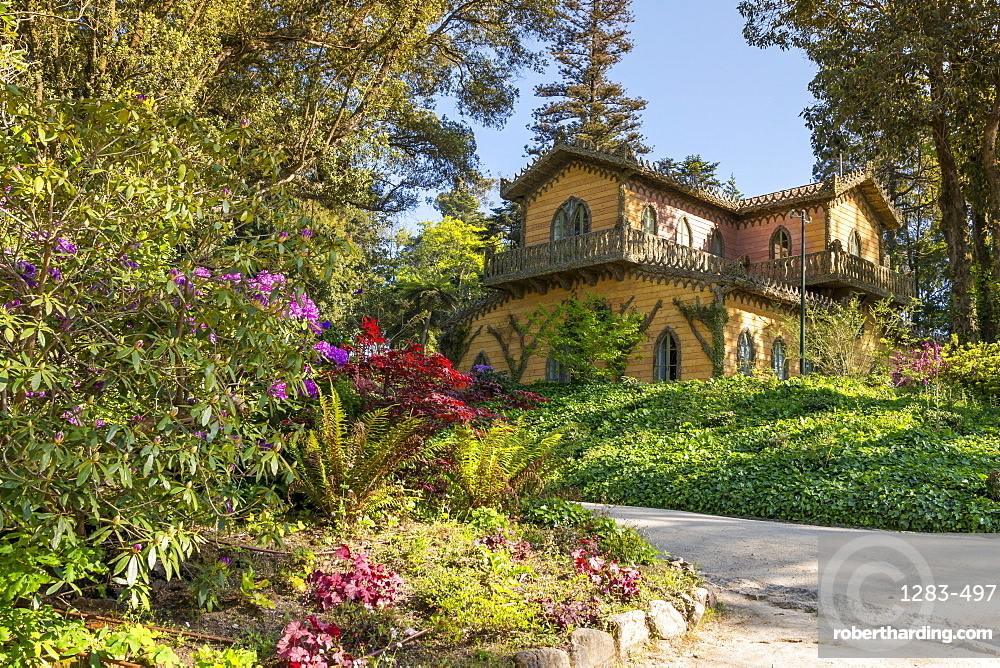 Chalet and Garden of the | Stock Photo
