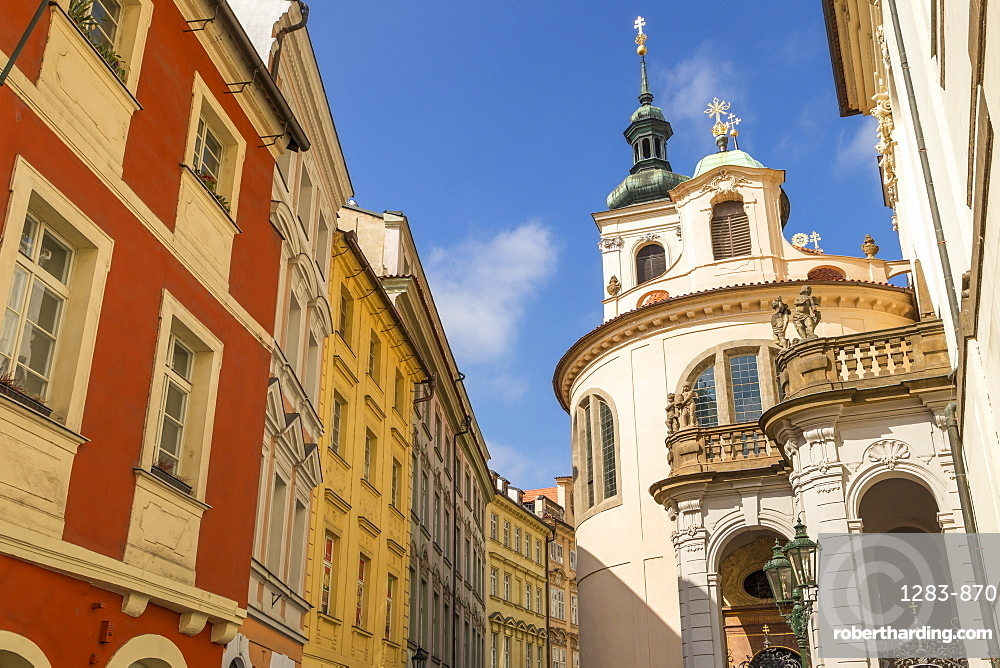St. Clement Church in the old town, Prague, Bohemia, Czech Republic, Europe