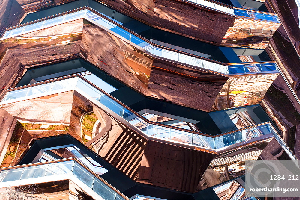 The Vessel (Hudson Yards Staircase), Hudson Yards Public Square, New York City, New York, United States of America