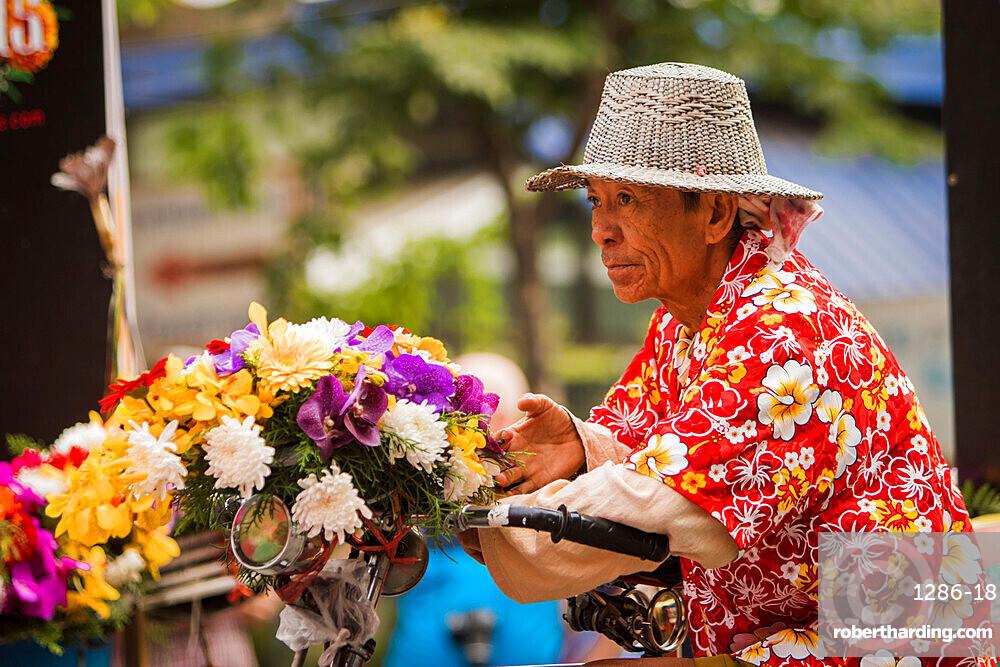 Chiang Mai Flower Festival 2018, Chiang Mai, Thailand, Southeast Asia, Asia