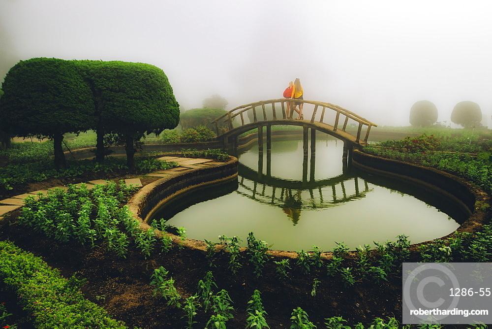 King's Pagoda, Doi Inthanon, Thailand, Southeast Asia, Asia