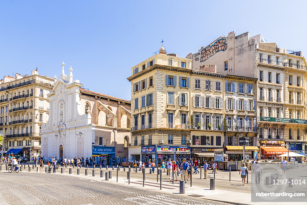 Marseille, Bouches du Rhone, Provence Alpes Cote d'Azur, French Riviera, France, Mediterranean, Europe
