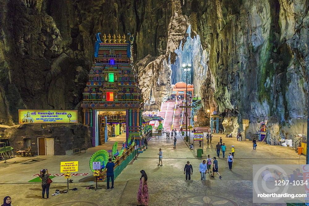 Cave temples at the Batu Caves, Kuala Lumpur, Malaysia, Southeast Asia, Asia