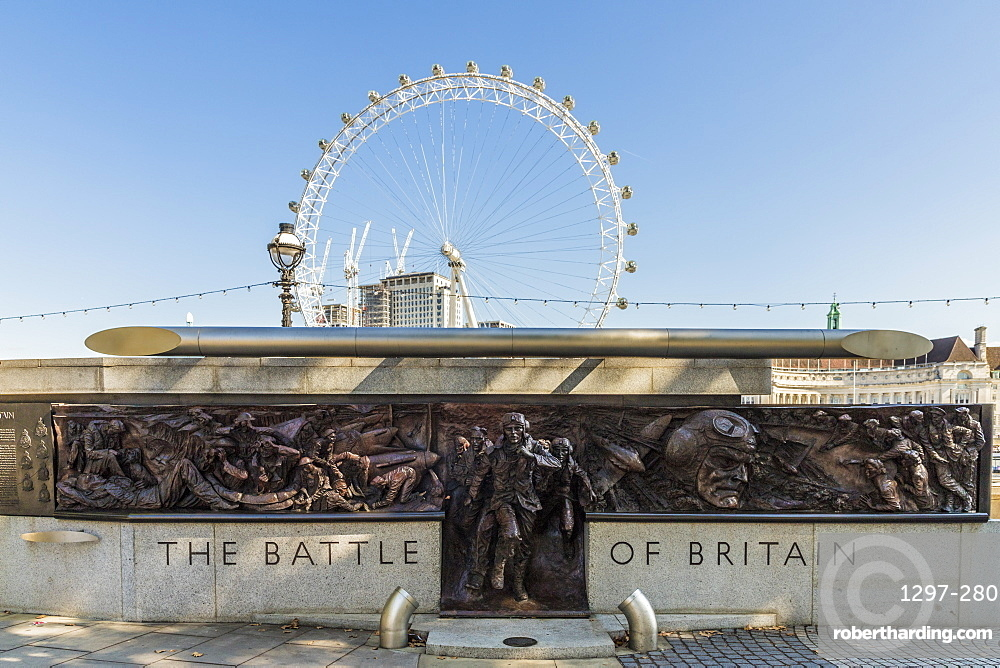 The Battle of Britain Memorial Monument, London, England, United Kingdom, Europe