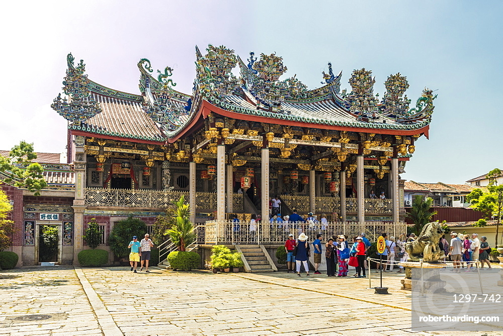 The Khoo Kongsi clan temple in the UNESCO heritage area of George Town, Penang Island, Malaysia, Southeast Asia, Asia.