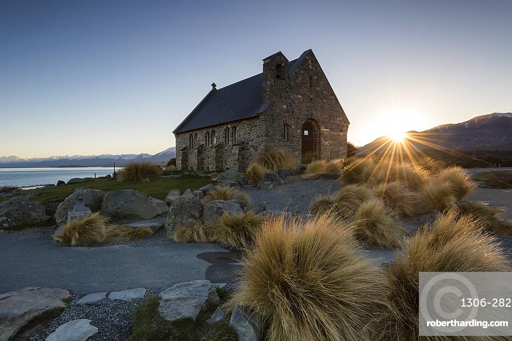 Church of the Good Shepherd, Lake Tekapo, Canterbury Region, Southland, New Zealand