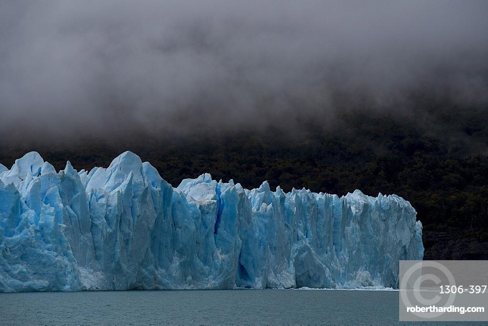 The Perito Moreno Glacier in Los Glaciares National Park, UNESCO World Heritage Site, Santa Cruz Province, Patagonia, Argentina,
