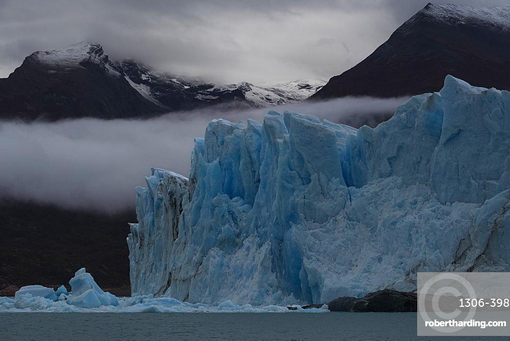 The Perito Moreno Glacier, Los Glaciares National Park, Santa Cruz Province, Patagonia, Argentina,