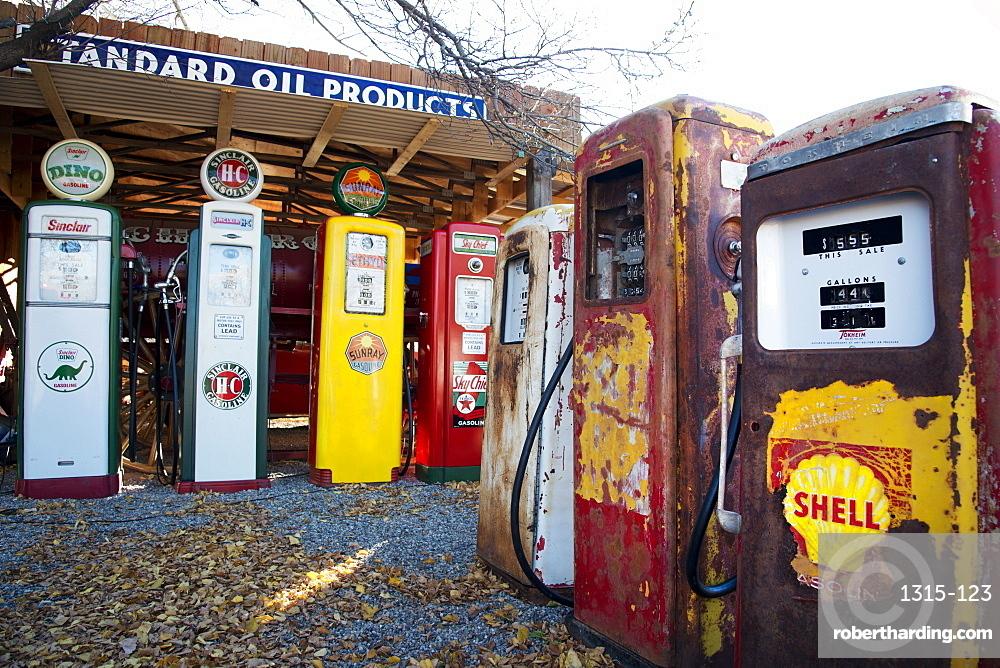 Embudo, New Mexico. Gas station museum