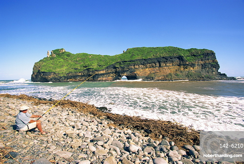 Hole in the Wall, Coffee Bay, Transkei, Wild Coast, South Africa, Africa
