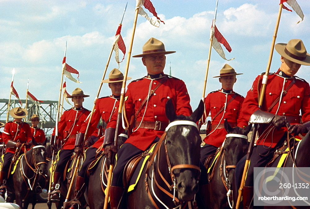 Mounties, Canada, North America