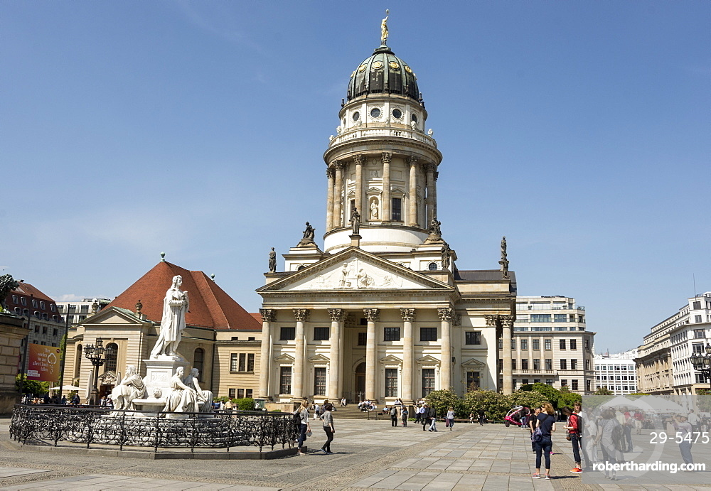 Franzosicher Dom at north end of Gendarmenmarkt, Berlin, Germany