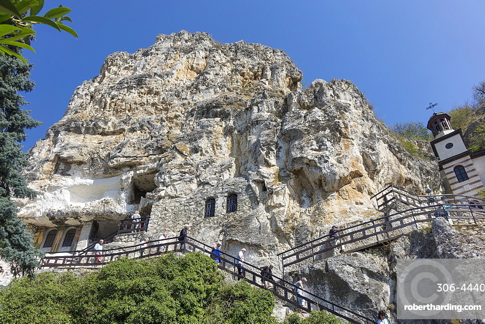 St. Dimitrii Rock Monastery, Basarbovo, Northern Bulgaria