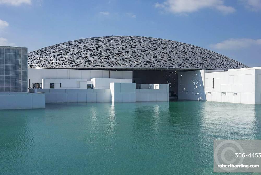 Louvre Art Gallery, Abu Dhabi, United Arab Emirates, Middle East