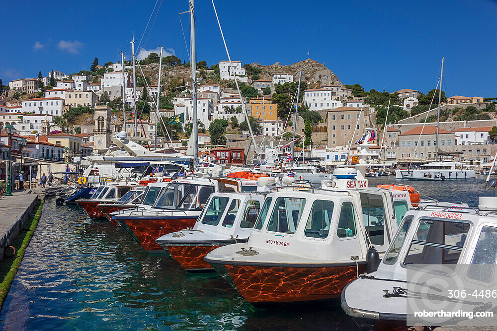 Port, Hydra, Saronic Islands, Greece