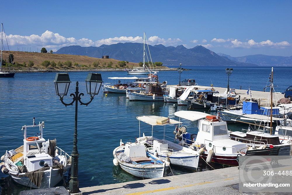 Harbour, Perdika Aegina, Saronic Islands, Greece