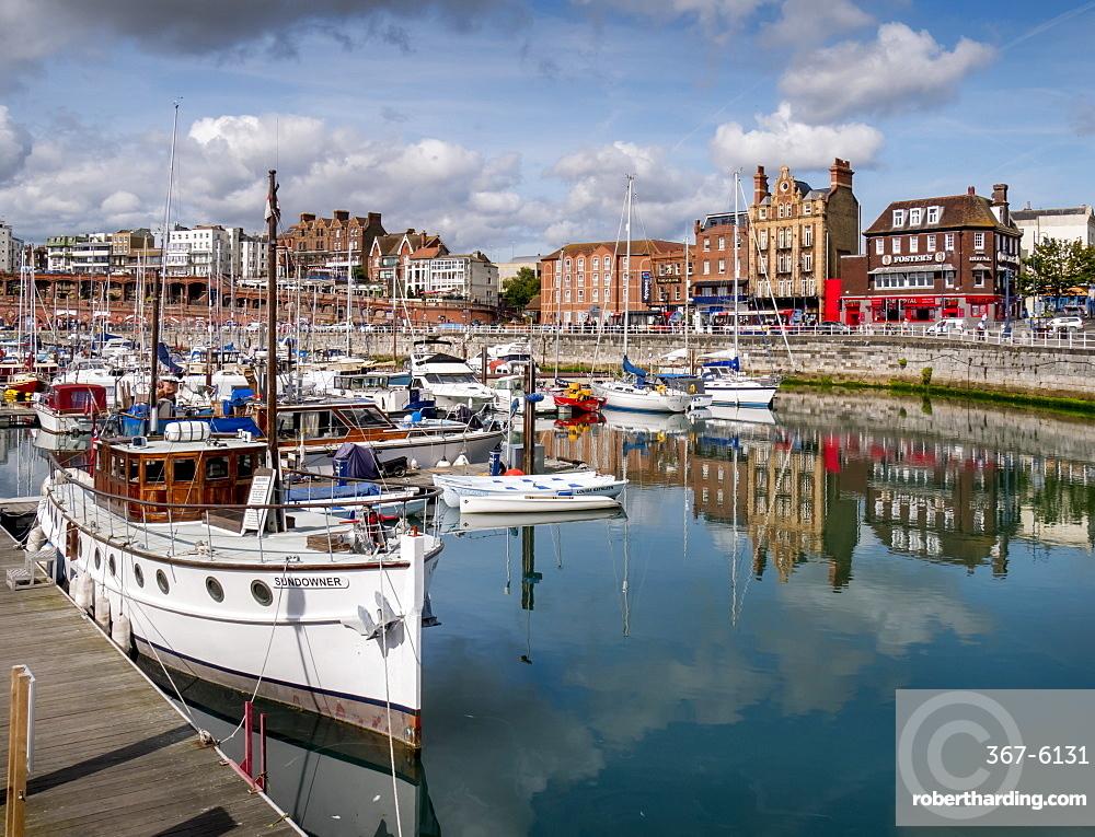 Ramsgate harbour, Ramsgate, Thanet, Kent, England, United Kingdom, Europe