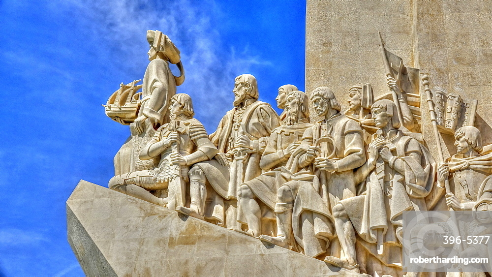 Padrao dos Descobrimentos (Monument of the Discoveries), Belem, Lisbon, Portugal, Europe