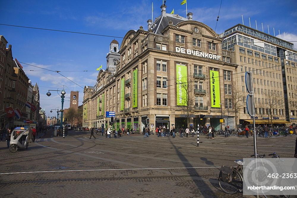 De Bijenkorf, Amsterdam's best known | Stock Photo