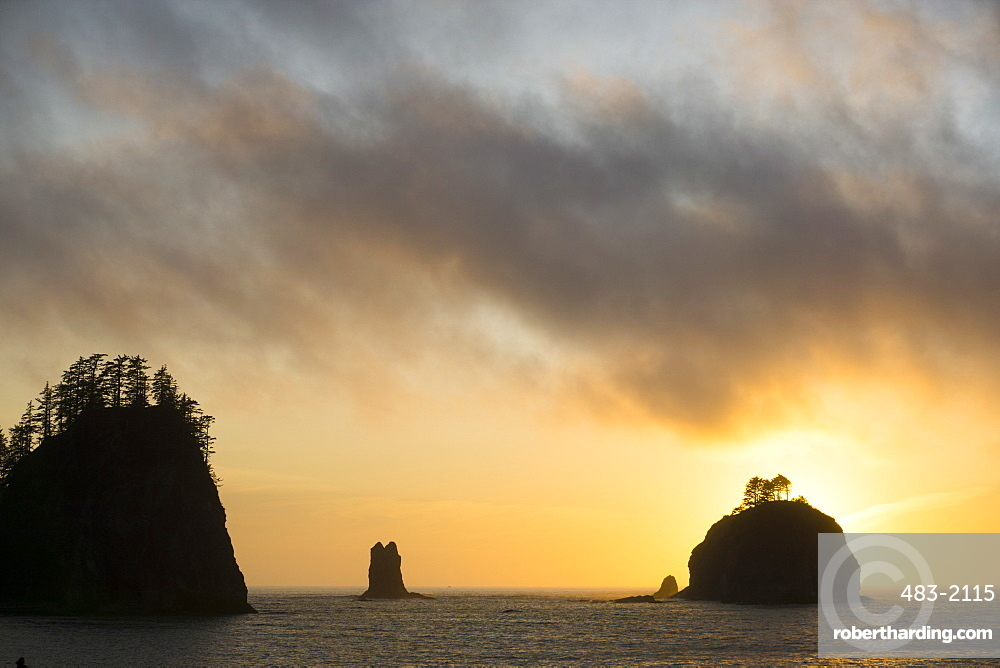 La Push, islands, Indian reservation ,Quileute people