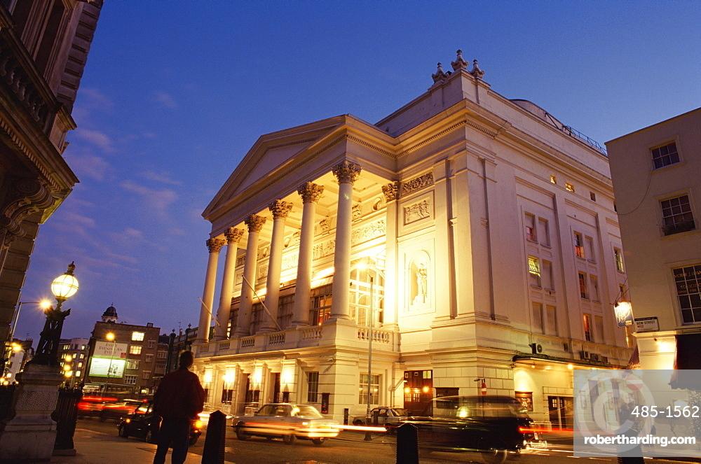 Royal Opera House Covent Garden Stock Photo