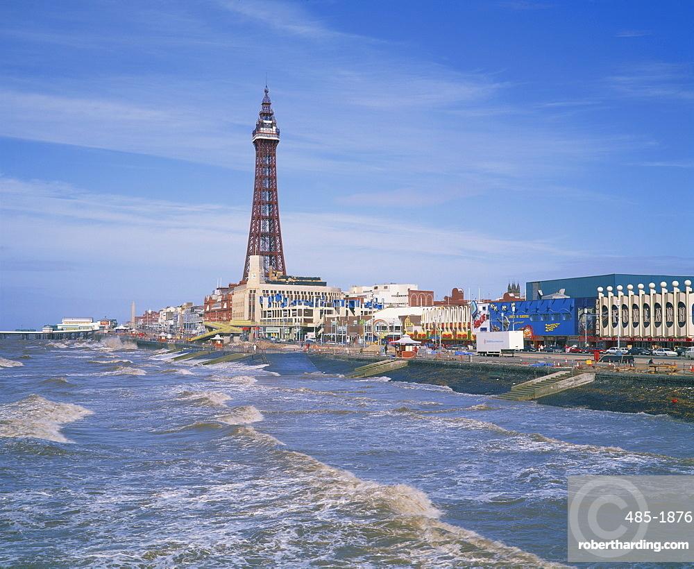 The Blackpool Tower Blackpool Lancashire Stock Photo
