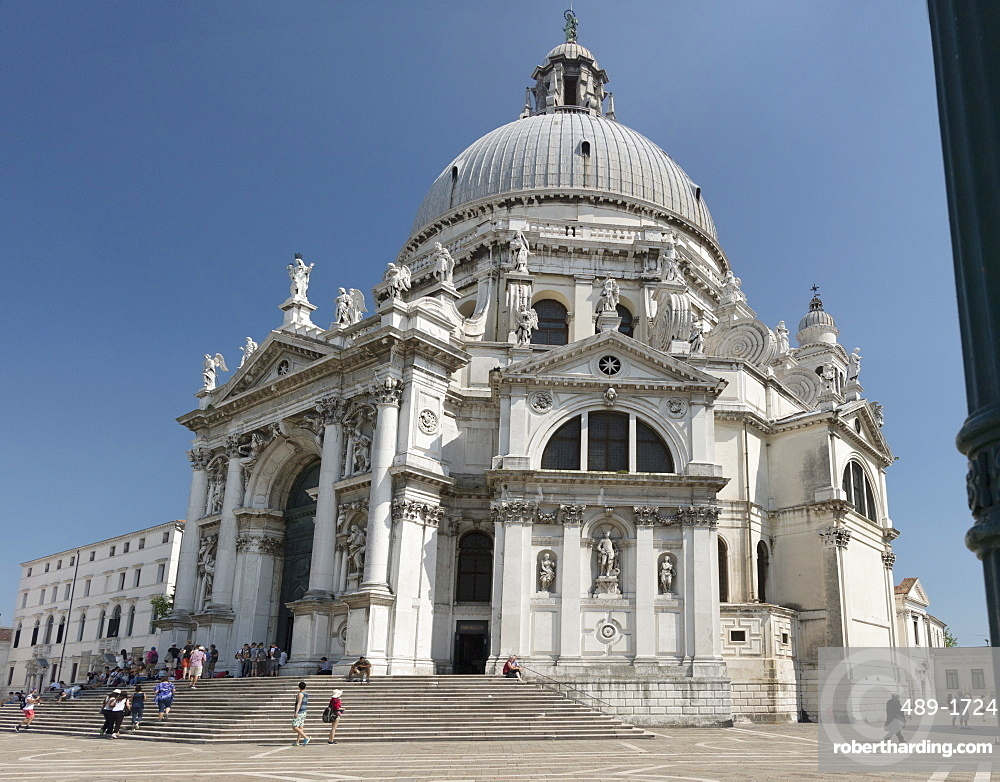 Church of Santa Maria della Salute, Venice, UNESCO World Heritage Site, Veneto, Italy, Europe