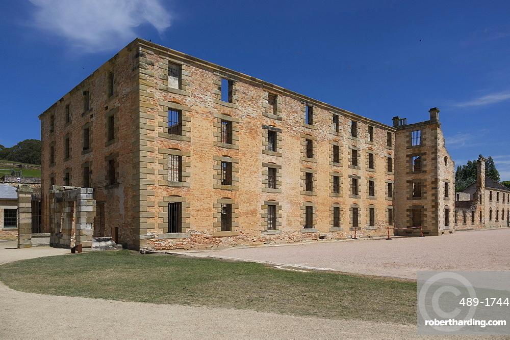 Main block, Port Arthur Historic Penal Colony, Tasmania, Australia