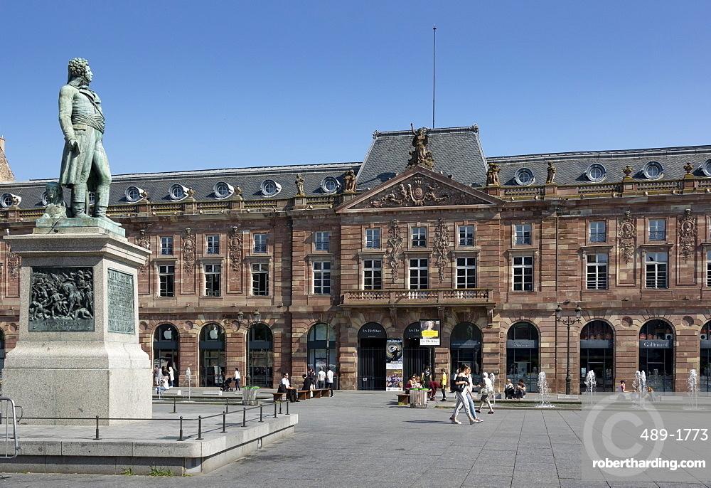 Place Kleber, UNESCO World Heritage Site, Strasbourg, Alsace, France, Europe