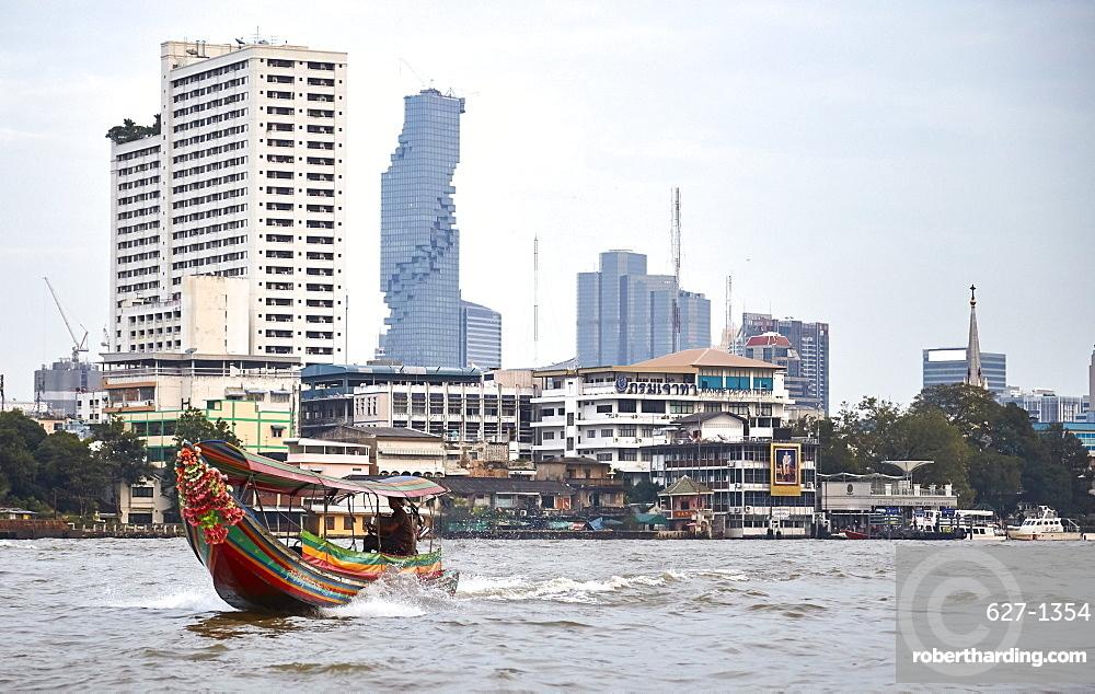 Chao Phraya River, Bangkok, Thailand, Southeast Asia, Asia