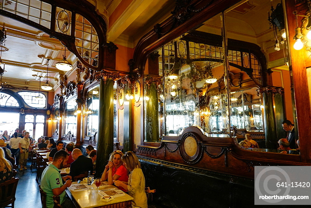 Majestic Cafe, Porto (Oporto), Portugal, Europe