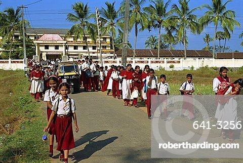 Good school, Kerala state, India, Asia